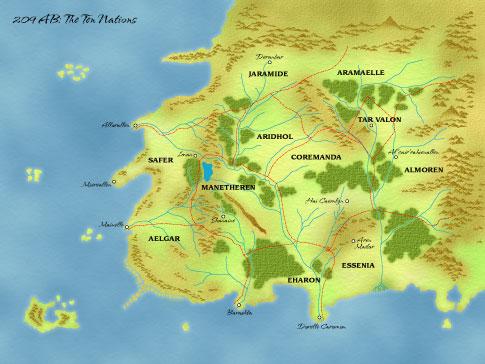 On Ulus haritası